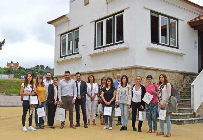 Visita de deputado provincial de Pontevedra à sede da Eurocidade Monção –Salvaterra de Miño