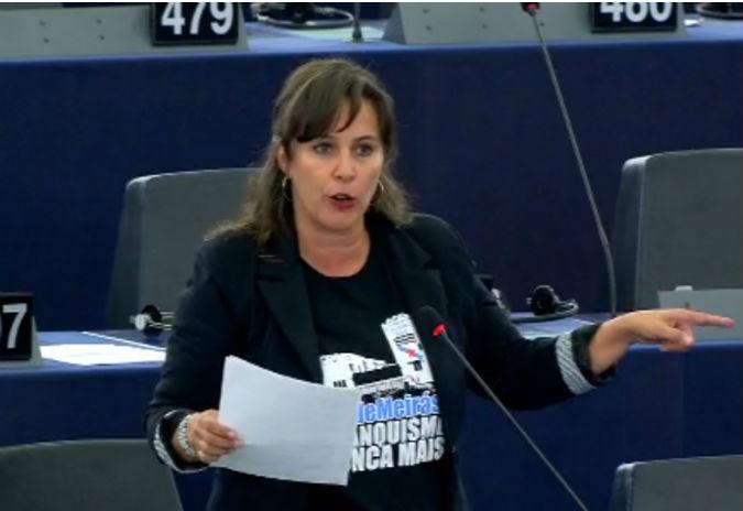 Ana Miranda acada o respaldo da esquerda da Eurocámara nunha resolución de condena do fascismo