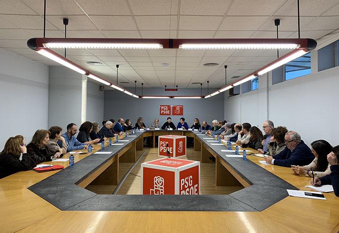 Gonzalo Caballero anuncia o voto favorable do Grupo Socialista no Congreso ao debate sobre a transferencia da AP-9 a Galicia