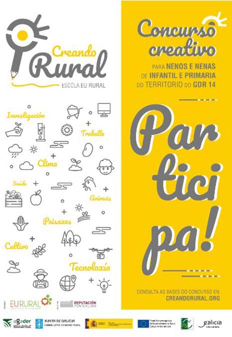 Arranca a segunda edición de Creando Rural, un concurso escolar para achegar a nenos e nenas ao medio rural