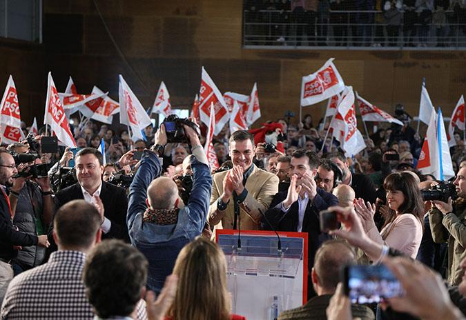 """Gonzalo Caballero chama a """"non deixar ningún voto na casa"""""""