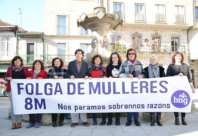 O BNG anima a participar na folga feminista convocada para o 8 de marzo e nas mobilizacións convocadas polo feminismo galego