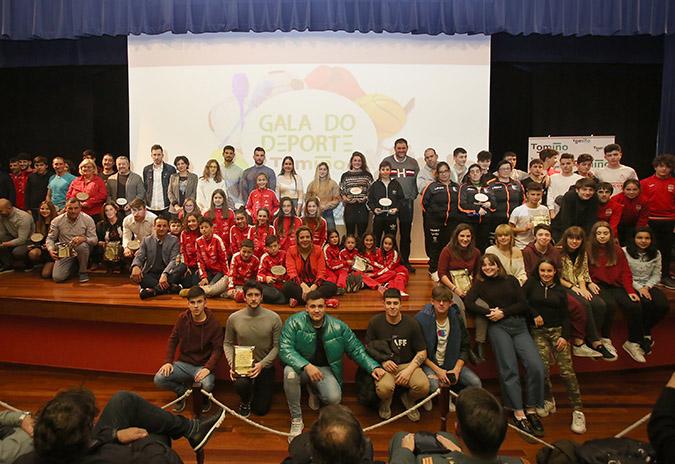 Tomiño celebrou esta fin de semana a V Gala do Deporte cunha ducia de premios e varias mencións especiais
