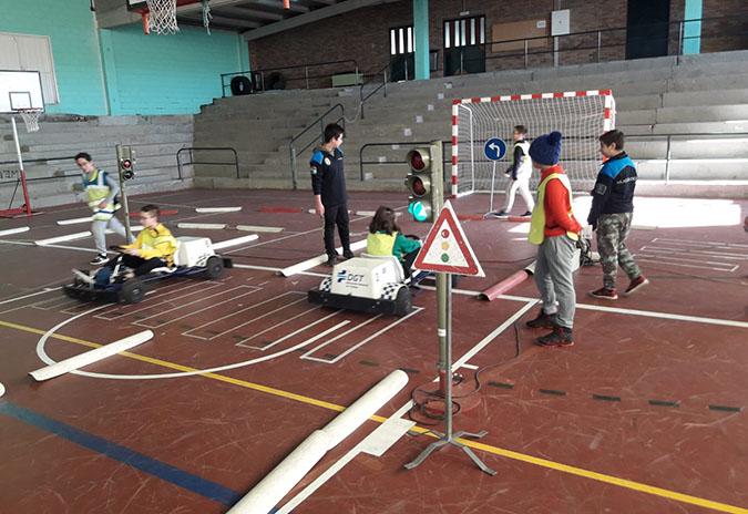 250 escolares de Porriño participaron este ano no curso de Seguridade Vial impartido pola Policía Local