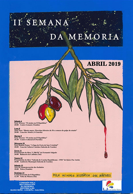 O Concello de Porriño colabora coa II Semana da Memoria Histórica