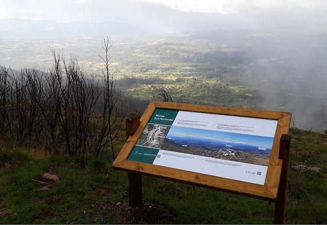 O Concello das Neves rematou a reposición da sinalización de diferentes localizacións da vila