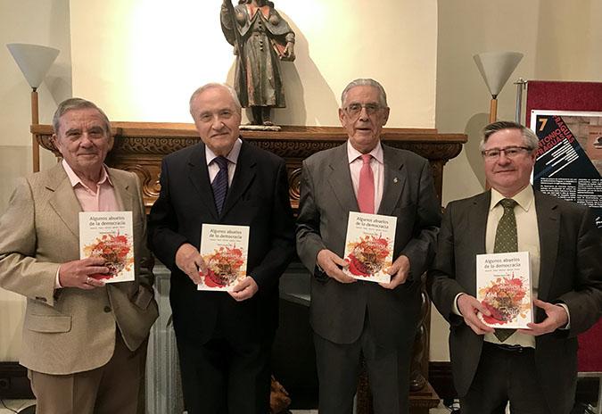 """""""Algunos abuelos de la democracia"""", presentouse esta tarde na Delegación da Xunta e en Madrid/Casa de Galicia"""