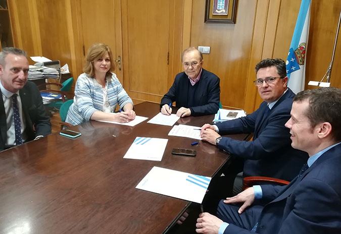 ABANCA, Afundación e o Concello de Ponteareas asinan un convenio de colaboración cultural