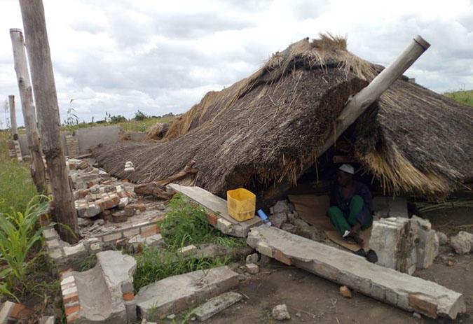 Deputacións e concellos contribuirán a reconstruír unha vila mozambicana afectada polo ciclón