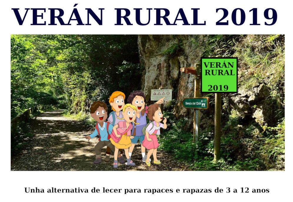 Ata o día 12 de xuño podes inscribirte no Verán Rural 2019