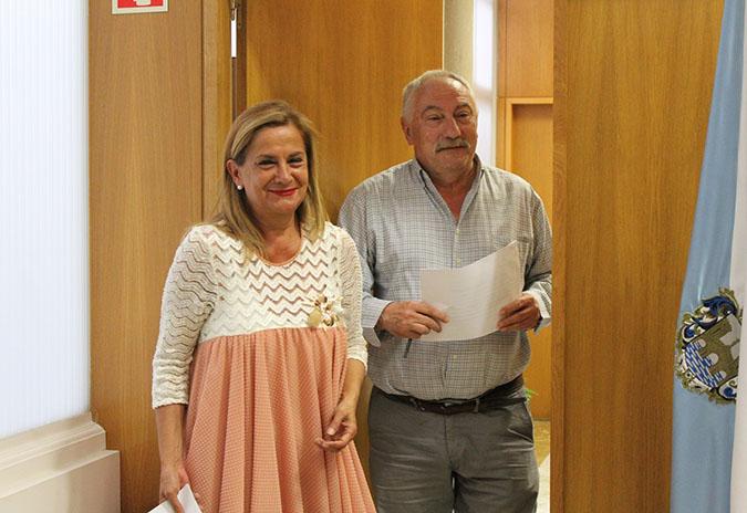 Carmela Silva e César Mosquera presentan a composición do novo goberno provincial