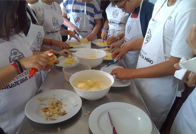 Curso de cociña e dietética