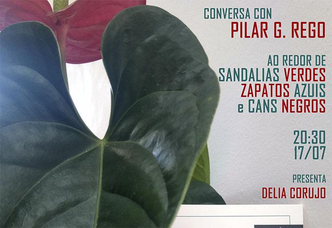 """Conversa con Pilar García Rego ao redor de """"Sandalias verdes"""""""
