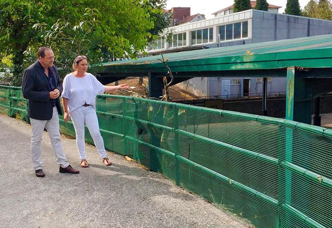 O goberno municipal mellora as instalacións do CPI de Mondariz
