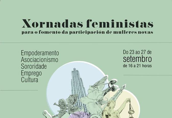 """Tomiño organiza as """"Xornadas feministas para o fomento da participación de mulleres novas"""""""