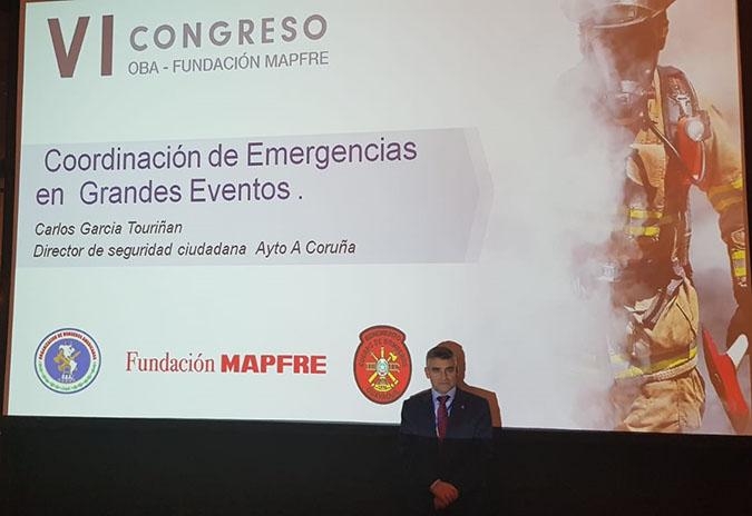 Seguridade Cidadá da Coruña participa nun congreso de seguridade e prevención en Ecuador
