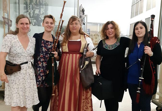"Galicia e España representadas no festival de gaita ""13 Međunarodni gajdaški""."