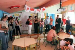 A Escola Unitaria de Ribadetea abriu as súas portas ao público