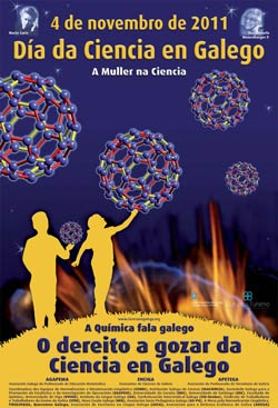 A química fala galego