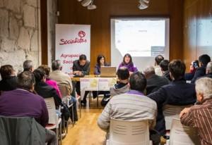 Charla informativa do PsdeG-PSOE de Salceda sobre o PXOM