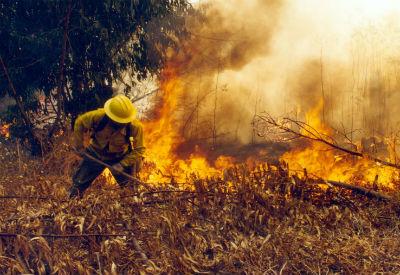 Compromiso acláralle a Troncoso que o concello ten competencia en materia de incendios
