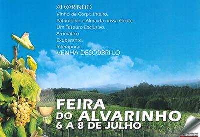 """""""Feira do Alvarinho"""" nos días 6, 7 e 8 de julho"""