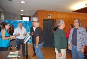 Gran acollida dos veciños na inauguración da exposición de radios na Casa da Cultura de Salceda de Caselas