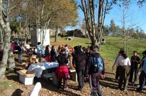 Máis dun centenar de persoas participaron no 1º Roteiro de coñece o teu entorno