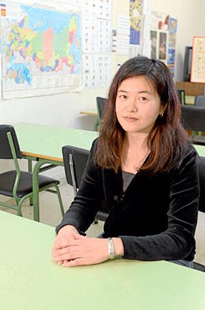 "Minako Takahashi, profesora do Centro de Linguas Modernas da USC: ""Para os españois é moi fácil falar xaponés"""