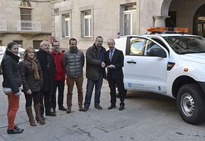 O Concello adquire un vehículo para Protección Civil e Medio Ambiente