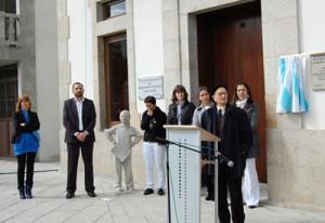 O Concello de Salceda desminte que non queira recuperar a estatua de Tucho