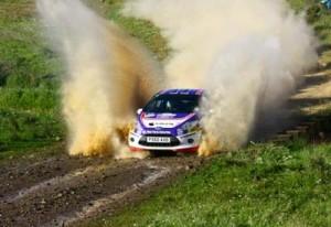 O copiloto de Salvaterra de Miño, Cándido Carrera, segundo no Mundial de Rallyes
