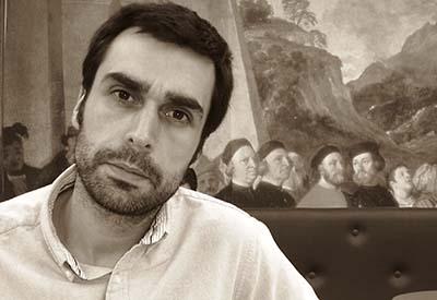 """Rubén Martínez Alonso: """"A ruinas do Gran Hotel tiñan algo máxico"""""""