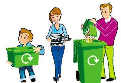 Salceda separa o lixo para aforrar