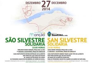 San Silvestre Solidaria 2014 entre Monçao e Salvaterra