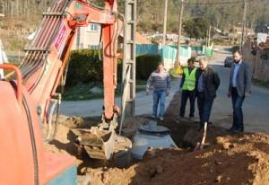 Saneamento público para núcleos en San Xurxo, Parderrubias, Picoña e o Centro Médico e Galescola