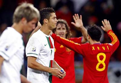 Valença e Tui vivem com emoção jogo Portugal Espanha