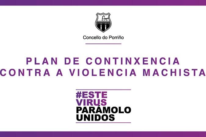 O concello do Porriño a contra a violencia Machista durante o estado de alarma