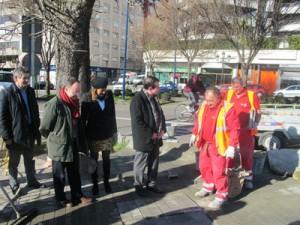 O goberno local acometeu melloras viarias en 2011 por valor de 2,1 millóns de euros