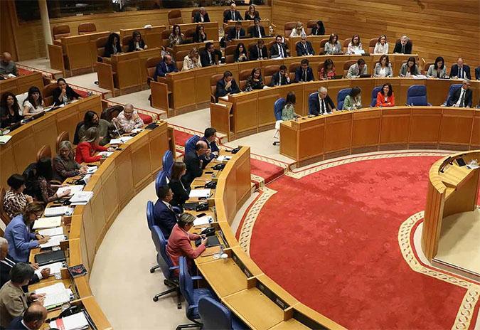 PSdeG-PSOE, Galicia en Común, BNG e Grupo Mixto formulan unha proposta conxunta de funcionamento do Parlamento