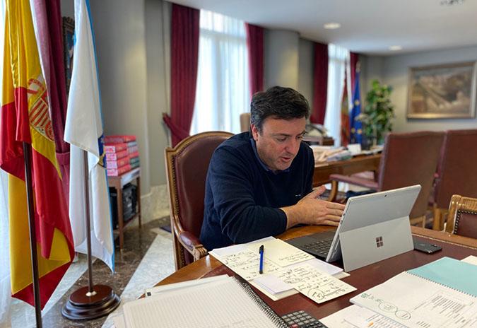 A Deputación da Coruña pon a disposición dos concellos da provincia 230.000 mascarillas
