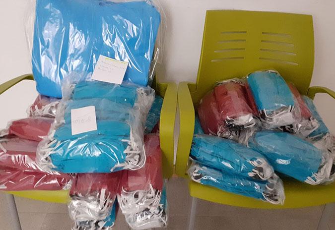 O Concello de Tui agradece o envío de material por parte das administracións e as doazóns de particulares