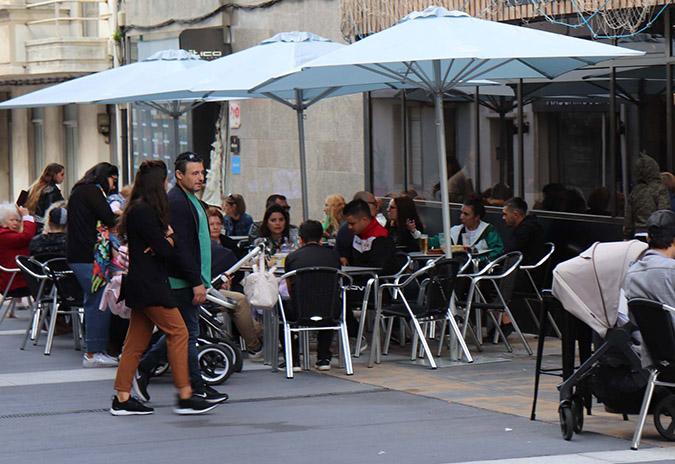 O concello da Guarda eliminará a taxa de terrazas para o 2020