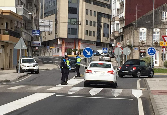 A Policía Local de Ponteareas detecta un alarmante aumento das infraccións desde a implantación das faixas horarias