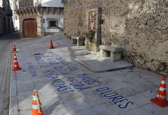 Frases e cores nas rúas da Guarda