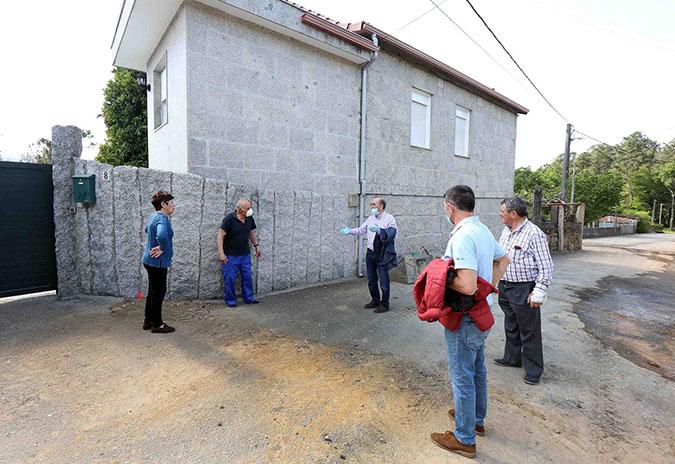 Ponteareas amplía a rede de abastecemento de auga a 95 vivendas en varios núcleos de Moreira, Angoares e San Mateo de Oliveira