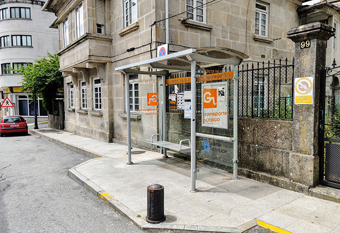 O alcalde Luis Piña solicita melloras para o horario do transporte público ao seu paso pola Cañiza
