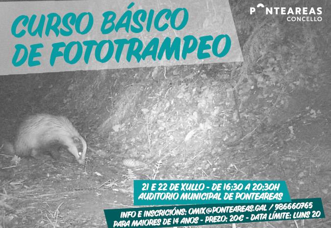 Curso de iniciación ao fototrampeo para achegarse á fauna de Ponteareas