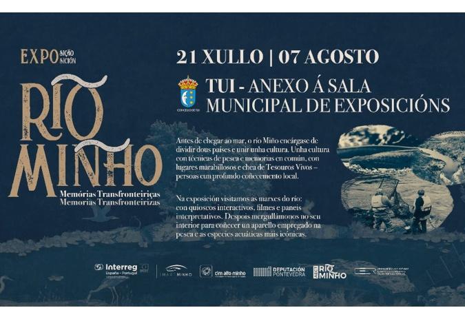 """Chega a Tui a exposición """"Río Miño: memorias transfronteirizas"""""""