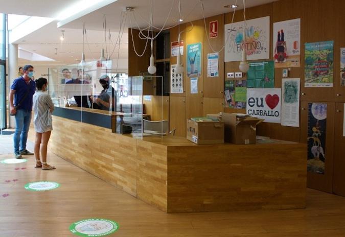 As bibliotecas de Carballo adaptan as súas instalacións á situación sanitaria